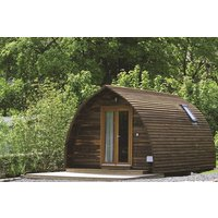 Deluxe Overnight Glamping Pod Break With Steamers Cruise For Two At Waterfoot Park Picture