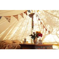Two Night Bell Tent Glamping Break In Gloucestershire Picture