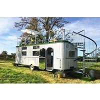 Two Night Glamping Break In The Warwick Knight Caravan, Gloucestershire Picture
