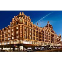Cream Tea For Two With A Glass Of Champagne For Two At Harrods Picture