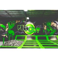 Family Entry To Indoor Trampolining At Flip Out Picture