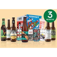 Three Month Ten Pack of Beer Subscription to Beer52 for One