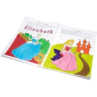 Personalised Disney Princess Activity and Colouring Book