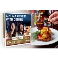 Cinema Tickets with Dinner - Smartbox by Buyagift - Dinner Gifts