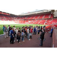 Family Of Four Tour Of Manchester United Picture