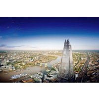 The View From The Shard With Cocktails For Two Picture