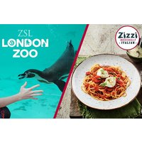 Zsl London Zoo Entry And Three Course Meal For Two At Zizzi Picture