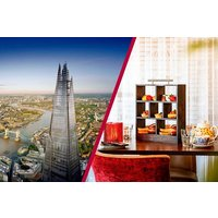 The View From The Shard And Afternoon Tea At Marco Pierre Whites New York Italian Picture