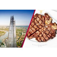 The View From The Shard With 3 Course Meal At Marco Pierre White London Steakhouse Picture