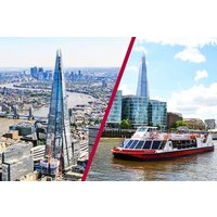 The View From The Shard And Afternoon Tea Cruise For Two Picture
