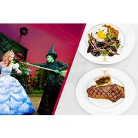 Upper Circle Theatre Show and Two Course Meal at Marco Pierre White Steakhouse Co - Dinner Gifts