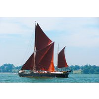 Thames Sailing Barge Lunch Cruise For Two In Essex Picture