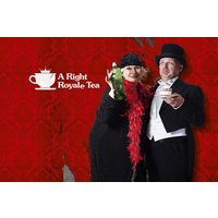 Comedy Afternoon Tea Experience for Two in London - Comedy Gifts