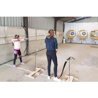 Archery For Two Adults At Aim Country Sports Picture