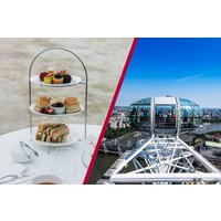Coca Cola London Eye and Bateaux Afternoon Tea Cruise for Two - Coca Cola Gifts