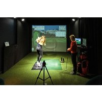 Private Golf Booth with Sharing Platter and Drinks for Two at The Range - Golf Gifts