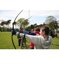 Axe Throwing Or Archery For Two At Madrenaline Activities Picture