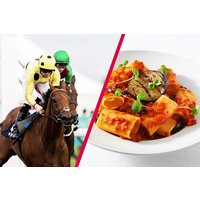 Day at the Races with Three Course Meal and Wine for Two at Prezzo - Days Out Gifts