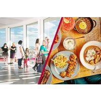 The ArcelorMittal Orbit Skyline View and Three Course Meal at Cabana for Two - Days Out Gifts