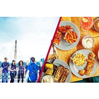 Up at The O2 Experience and Three Course Meal at Cabana O2 for Two - Days Out Gifts