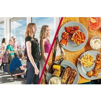 Family Ticket to The ArcelorMittal Orbit Skyline View and Meal at Cabana - Days Out Gifts