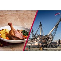 Portsmouth Historic Dockyard Annual Pass with Three Course Meal at Cafe Rouge for Two - Days Out Gifts