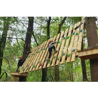 Tree Top Trials Entry to Explorer Course for One Adult and One Child - Adult Gifts