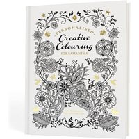Adult Personalised Creative Colouring Book