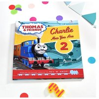 Personalised Thomas & Friends Birthday Book
