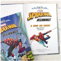 Personalised Spiderman Beginnings Marvel Story Book