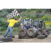Dumper Racing At Diggerland Picture
