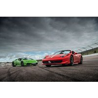 Triple Supercar Driving Blast at a Top UK Race Track - Track Gifts