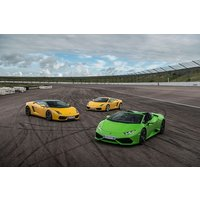 Four Supercar Driving Blast at a Top UK Race Track - Track Gifts
