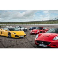 Five Supercar Driving Thrill at a Top UK Race Track - Track Gifts