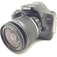 CAMARA DIGITAL REFLEX CANON EOS 550D+EF