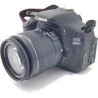 CAMARA DIGITAL REFLEX CANON EOS 600D+EF