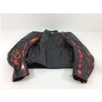 CHAQUETA MOTORISTA NEW ROCK FLAMES