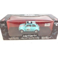 COCHE METAL CARHARTT 1963 FIAT ABARTH 695WW