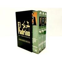 COLECCIONISMO VINTAGE EL PADRINO LA TRILOGIA VHS