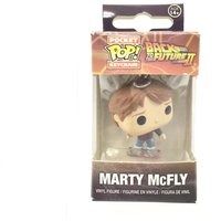 FIGURA ACCION FUNKO LLAVERO REGRESO AL FUTURO MARTY MCFLY POCKET POP