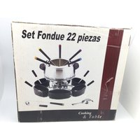 FONDUE NO COOKING AND TABLE