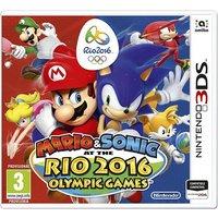 MARIO & SONIC EN LAS OLIMPIADAS DE RIO 2016 3DS