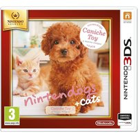 NINTENDOGS + GATOS CANICHE SELECTS 3DS