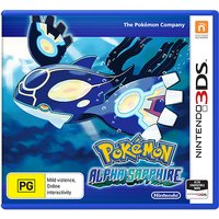 POKEMON ZAFIRO ALFA 3DS