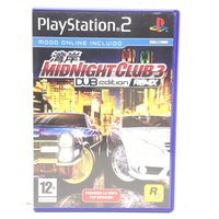 MIDNIGHT CLUB 3 DUB EDITION REMIX PS2