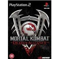 MORTAL KOMBAT V DEADLY ALLIANCE PS2