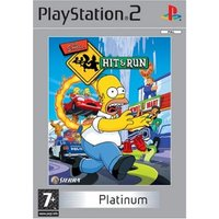 THE SIMPSONS HIT AND RUN PLATINUM PS2