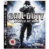CALL OF DUTY WORLD AT WAR PLATINUM PS3