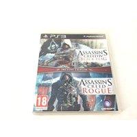 COMPIL ASSASSINS CREED IV BLACK FLAG + ASSASSINS CREED ROGUE PS3