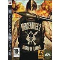 MERCENARIES 2 WORLD IN FLAMES PS3